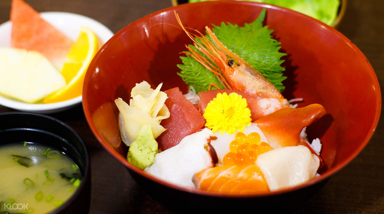 Chirashi Don at Kan Sushi in Tanjong Pagar